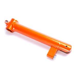 0199-1002. Rak dropparm, litet länkhål 6 mm, PETRA storlek P1 och P2