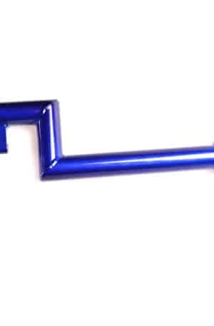 0199-1224. Offset dropparm, litet länkhål 6 mm, PETRA storlek P4