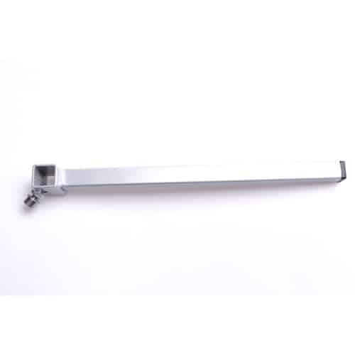 4444-0200. 20 cm kubisk stolpe 25x25 mm - kubiskt beslag inre 21x21 mm